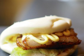 Pork belly bun is one of our best sellers in New York, now is ready for Bostonian
