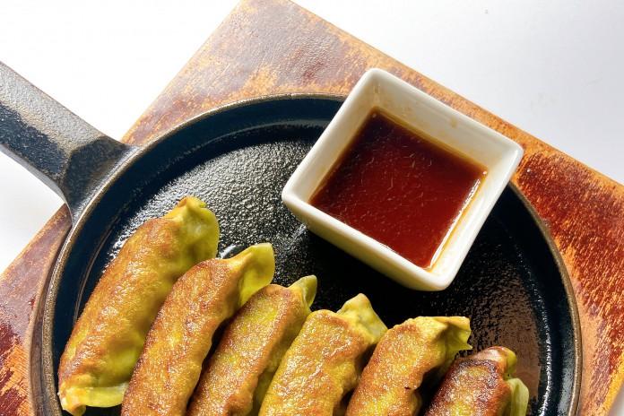 Deep-fried Veggie Gyoza